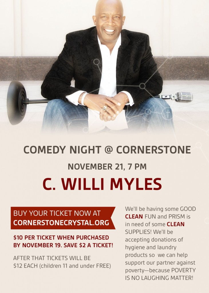Comedy Night at Cornerstone - C. Willi Myles